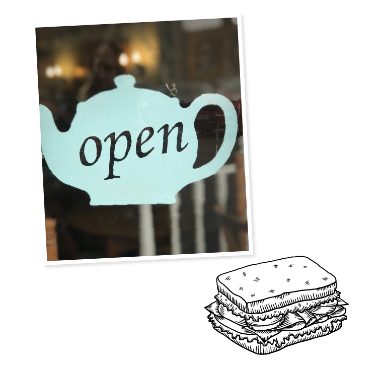 Lucy's Tearoom _ Open pic
