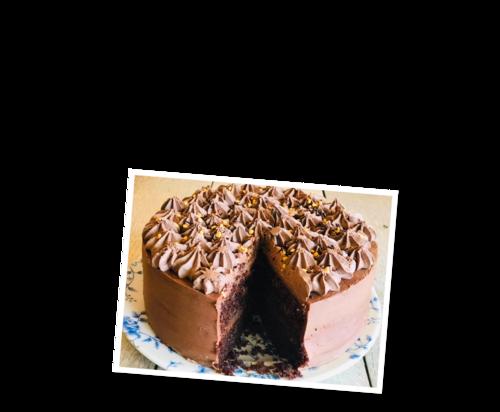 Lucy's Tearoom _ _Chocolate cake bunting